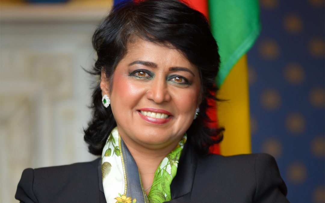 We are honoured to announce that the esteemed H.E Dr. Ameenah Gurib-Fakim, the First Female President of the Republic of Mauritius, as an honorary patron and champion of iamtheCODE