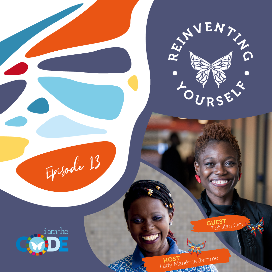 Reinventing Yourself | E13: In Conversation with Tolullah Oni: The Hidden Power of Curiosity