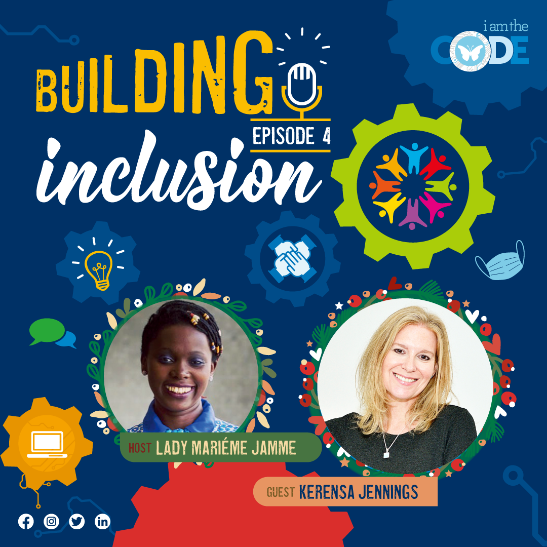 Building Inclusion | S3E4: In Conversation with Kerensa Jennings – The Power of Hope and Creation