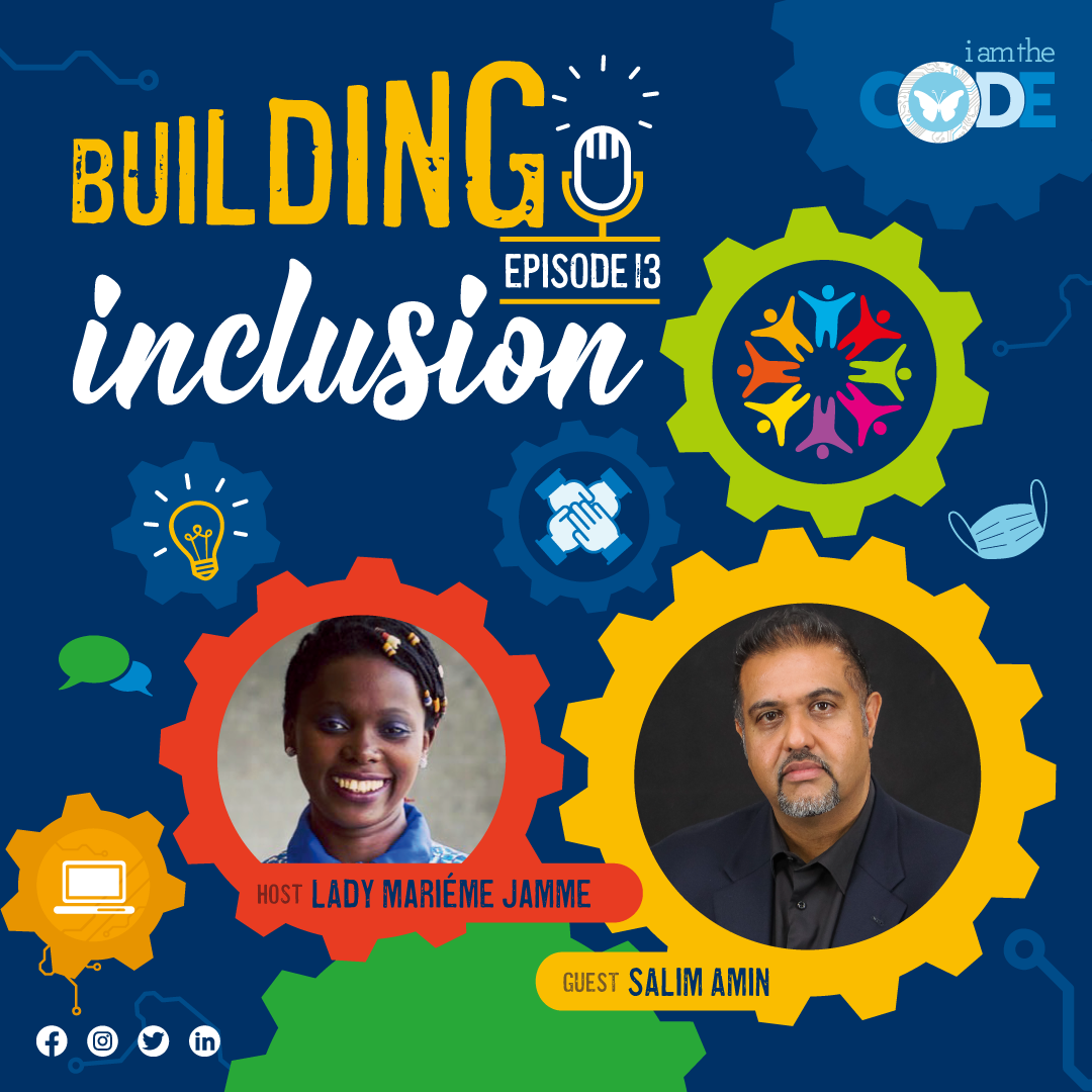 Building Inclusion | S3E13: In Conversation with Salim Amin – The Power of Understanding Our History