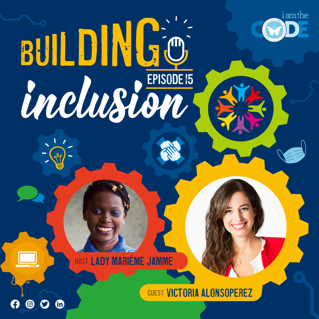 Building Inclusion | S3E15: In Conversation with Victoria Alonsoperez – The Power of Invention