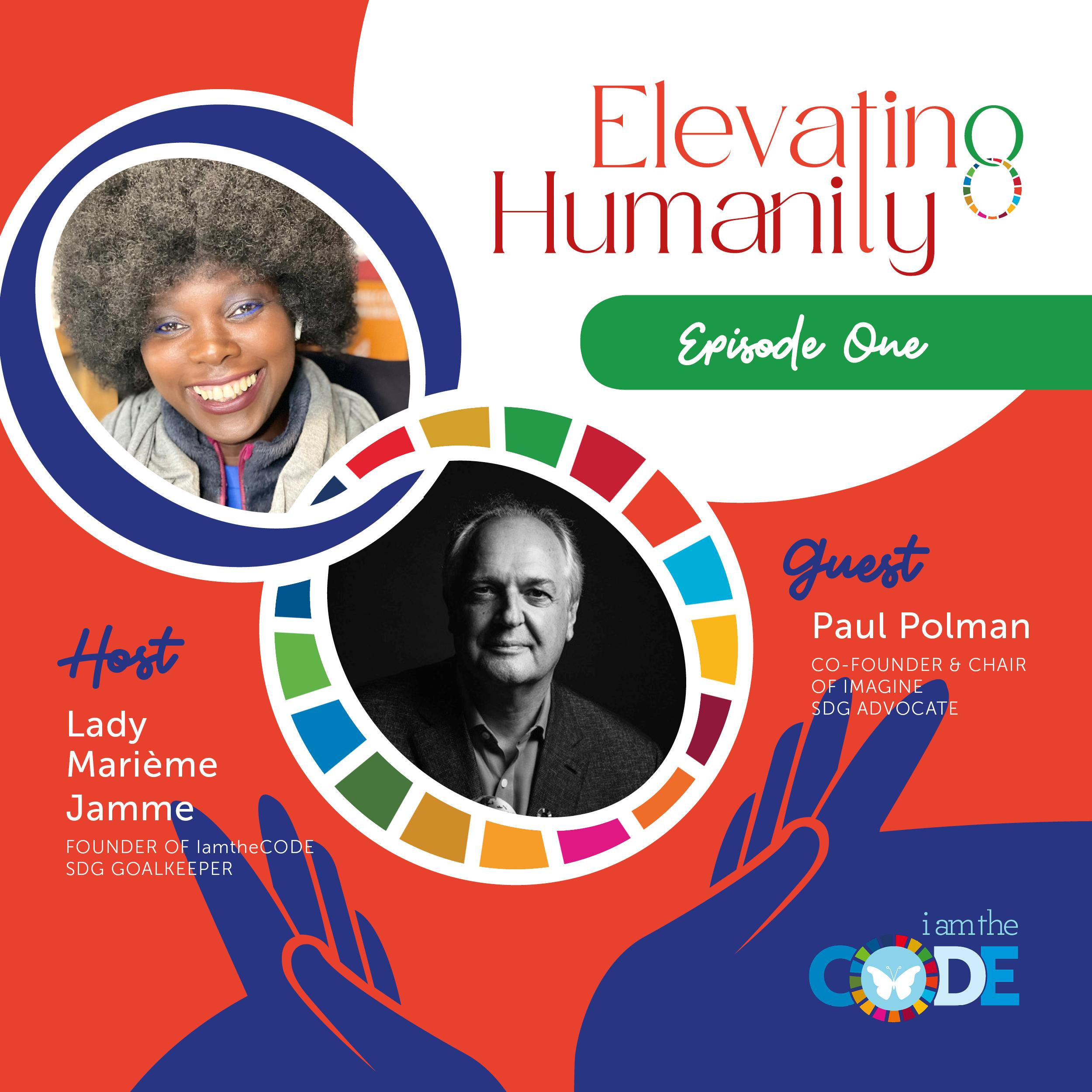 iamtheCODE Podcast Season 4 - Elevating Humanity