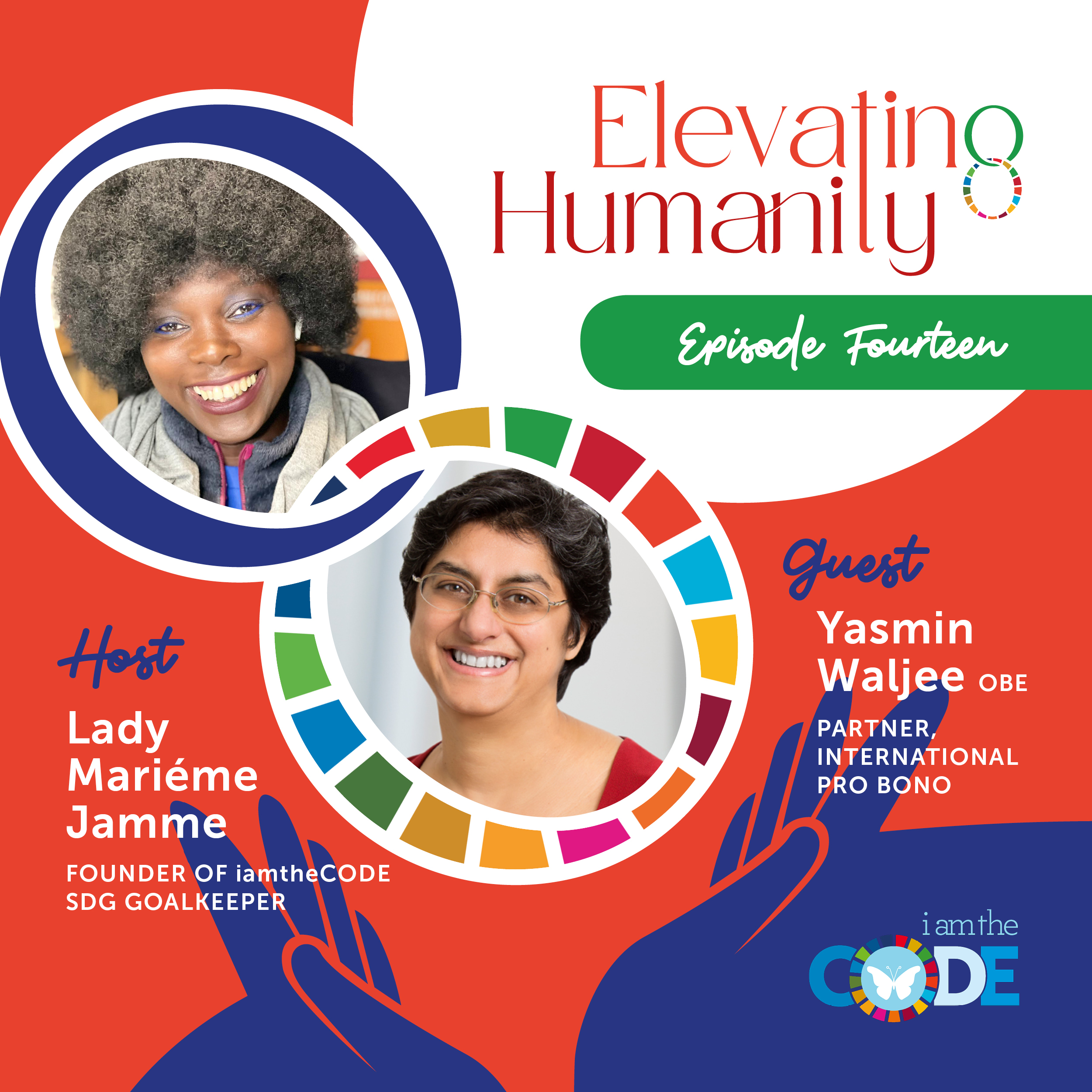 Elevating Humanity | S4E14: In Conversation with Yasmin Waljee – The Power of Justice and Legal Support for Charities