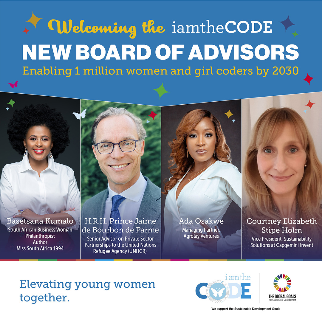 iamtheCODE Announces New Appointments to Board of Advisors and Industry experts to help scale program globally
