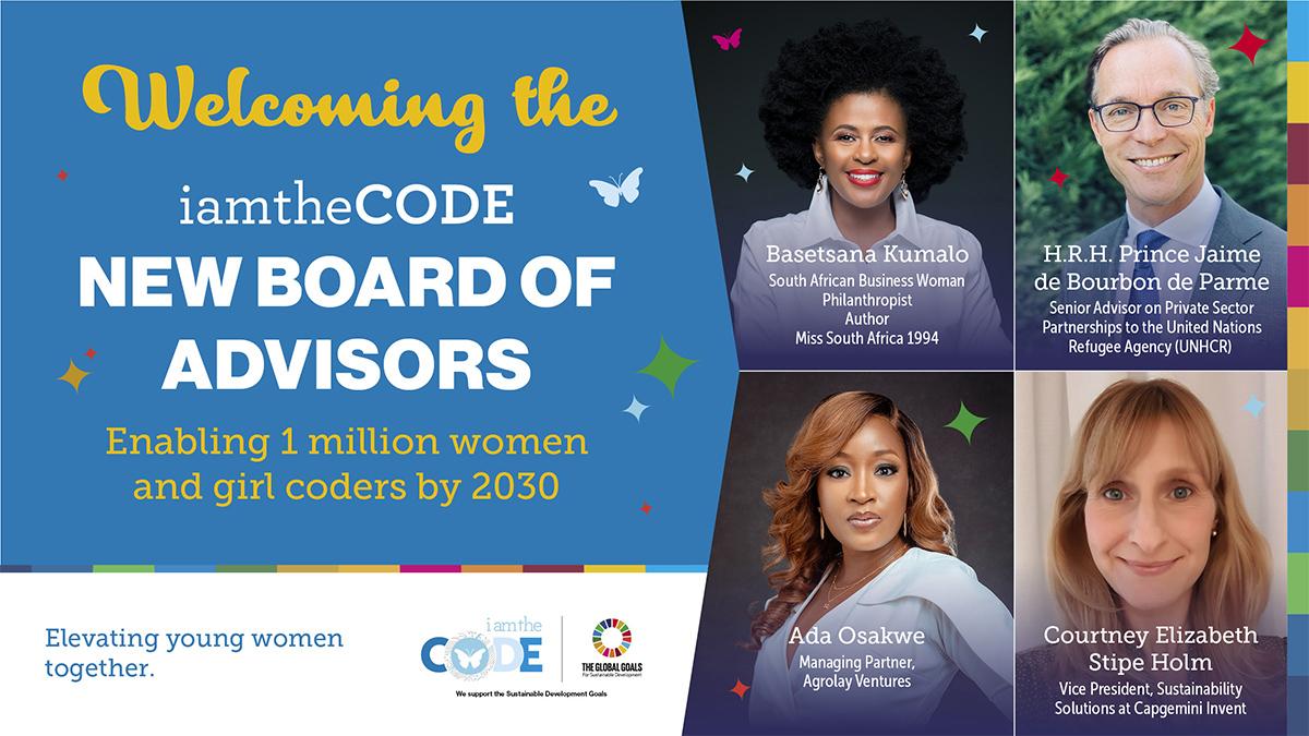 iamtheCODE New Board of Advisors