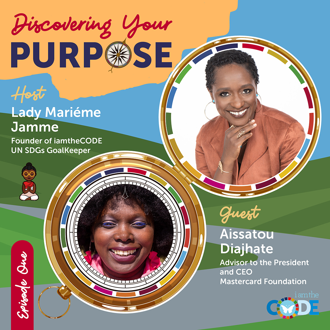 iamtheCODE Podcast Season 5 - Discovering Your Purpose